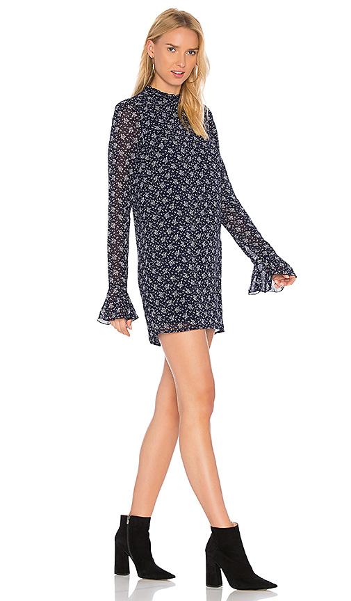 Line & Dot Adalyn Tunic Dress in Navy. - size L also in M,S,XS