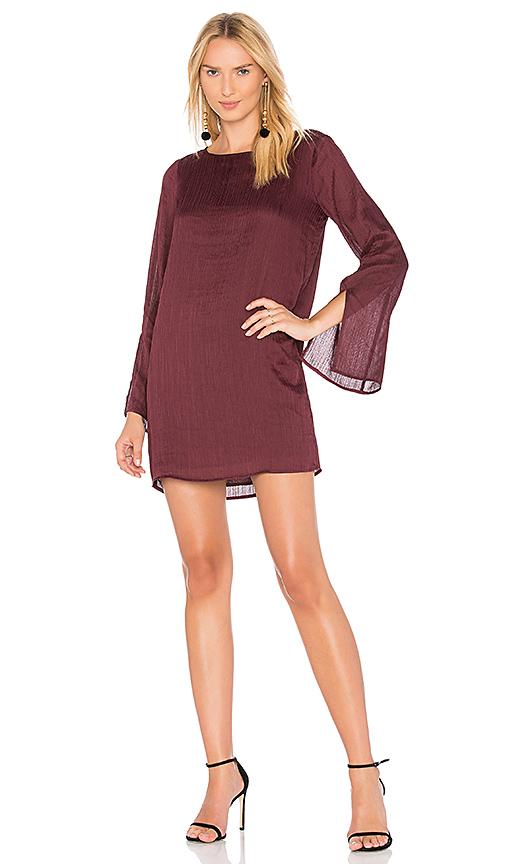 Line & Dot Philipa Shift Dress in Purple. - size S also in L,M,XS