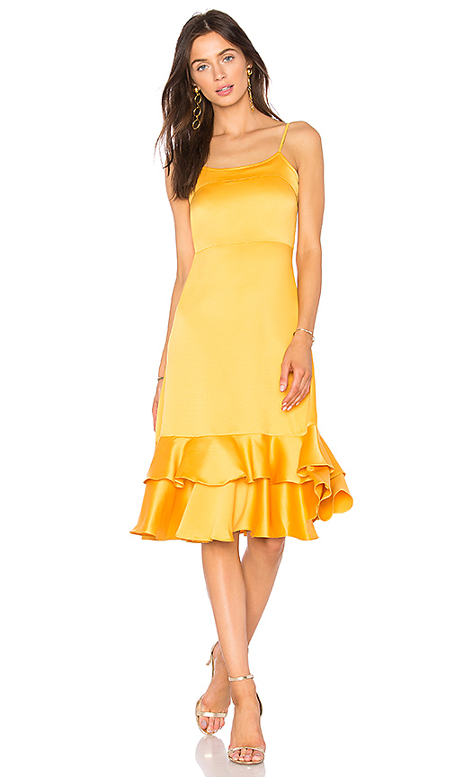 Line & Dot Sasha Dress in Yellow. - size S also in XS