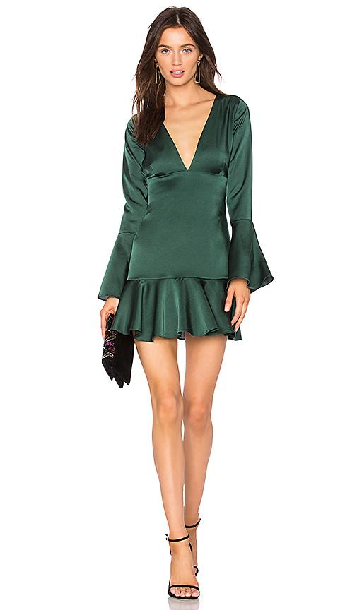 Line & Dot Mara Dress in Green. - size S also in M,L