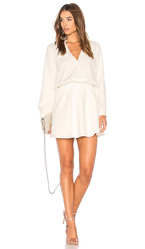 Line & Dot Marais Dress in White. - size L also in XS