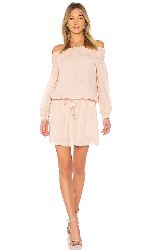 Line & Dot Inez Dress in Peach. - size S also in XS,M,L