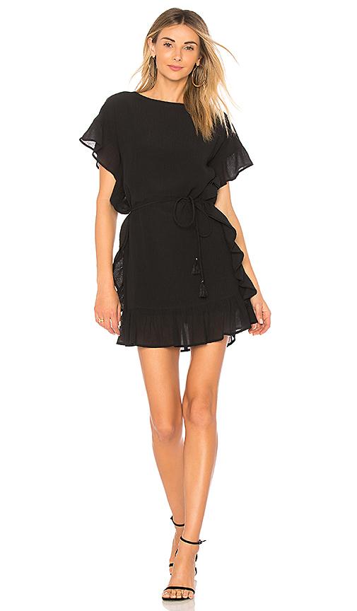 Line & Dot Dina Dress in Black. - size S also in XS