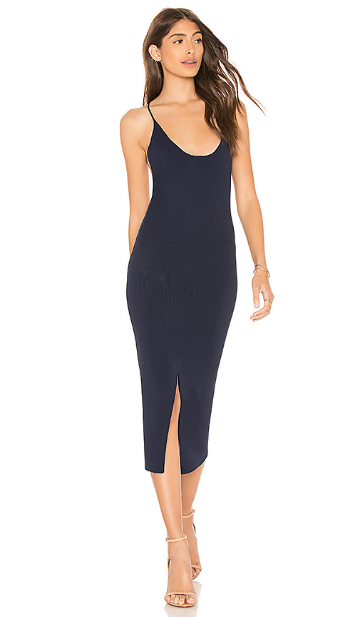 Line & Dot Ralla Dress in Navy. - size L also in XS,S,M