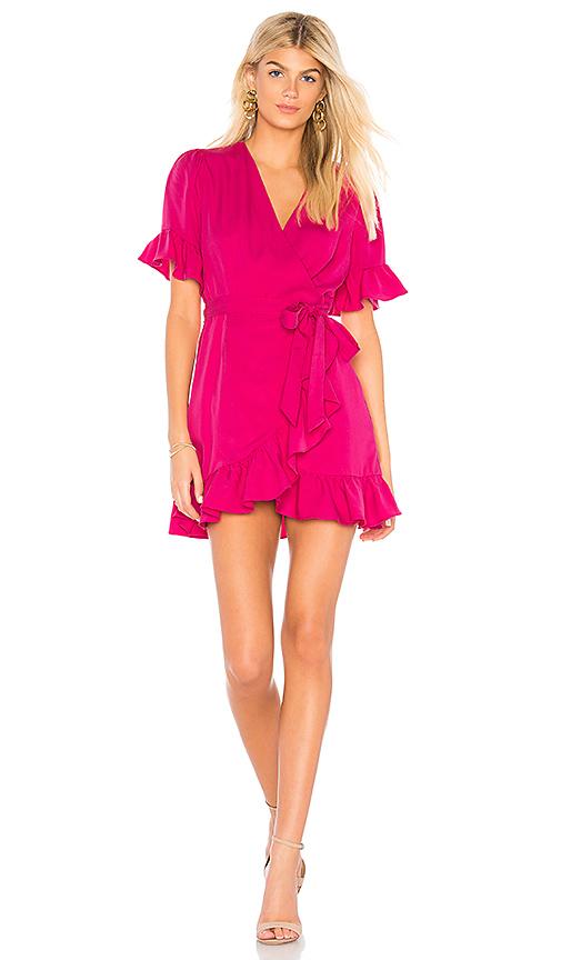 Line & Dot Cherie Dress in Fuchsia. - size M also in XS,S