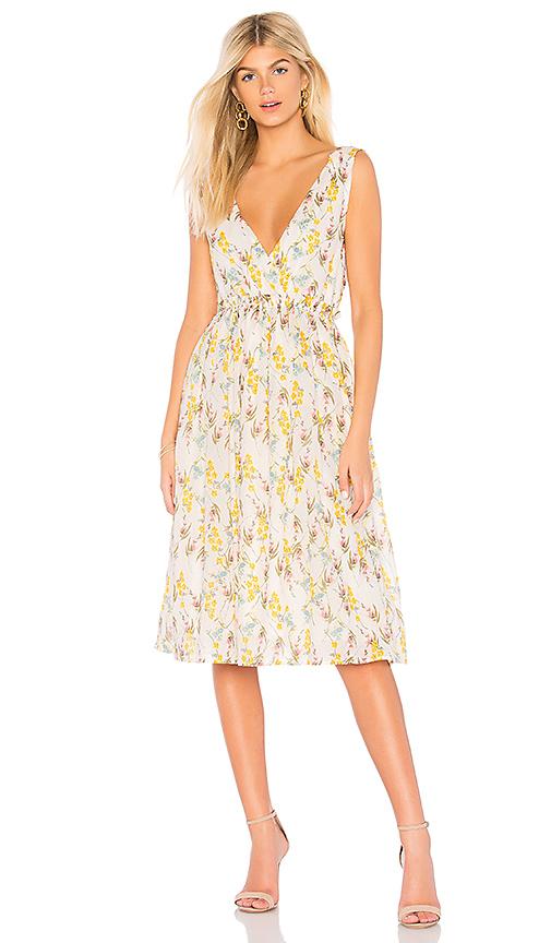 Line & Dot Fleur Dress in White. - size XS also in S,M,L