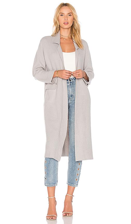 Line & Dot Lyn Coat in Gray. - size L also in M