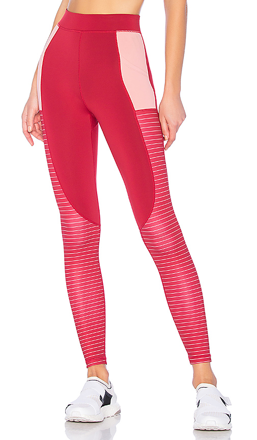 lovewave Theo Pant in Red. Size L.