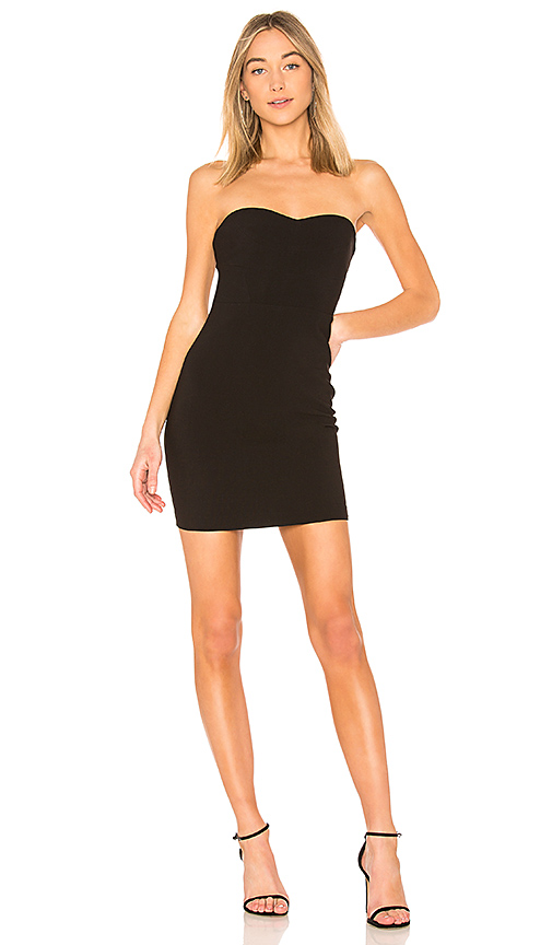 LIKELY Halstead Dress in Black