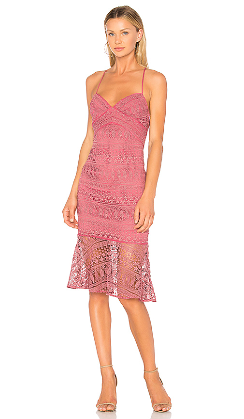 LIKELY Darby Dress in Mauve