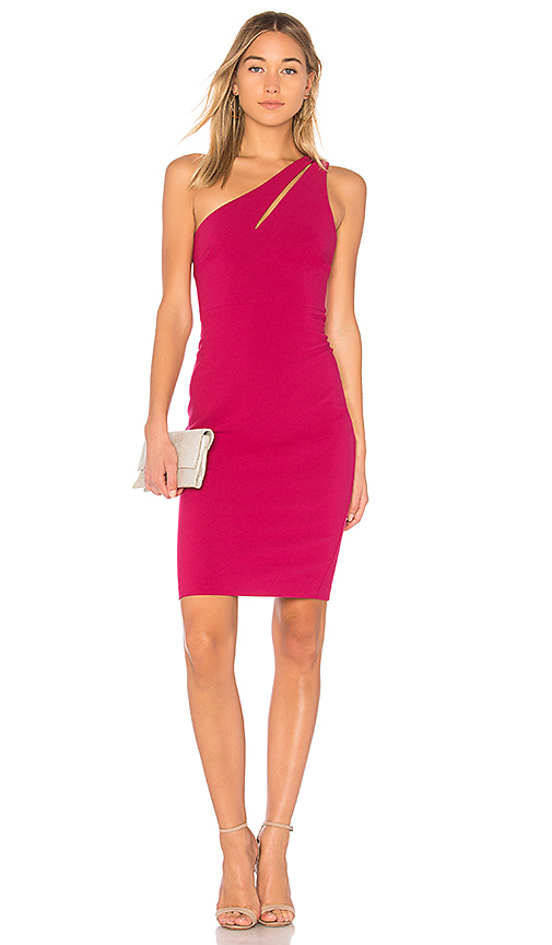 LIKELY Allison Dress in Fuchsia