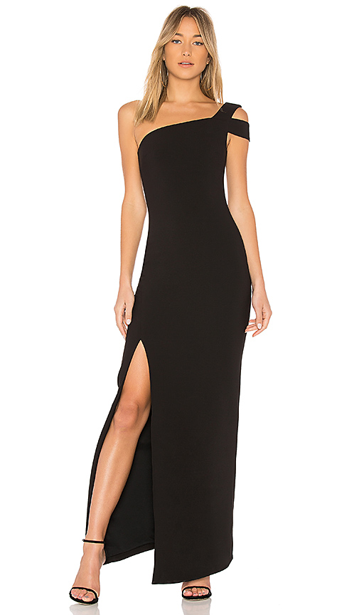 LIKELY Maxson Gown in Black