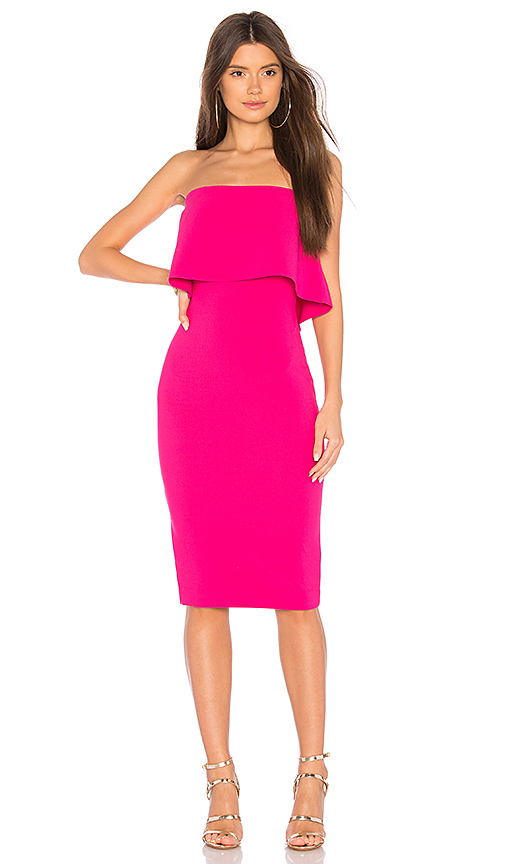 LIKELY Driggs Dress in Fuchsia. - size 0 (also in 2,4,6,8)