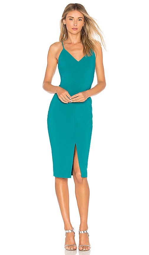 LIKELY Brooklyn Dress in Teal