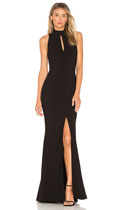 LIKELY Harbor Gown in Black