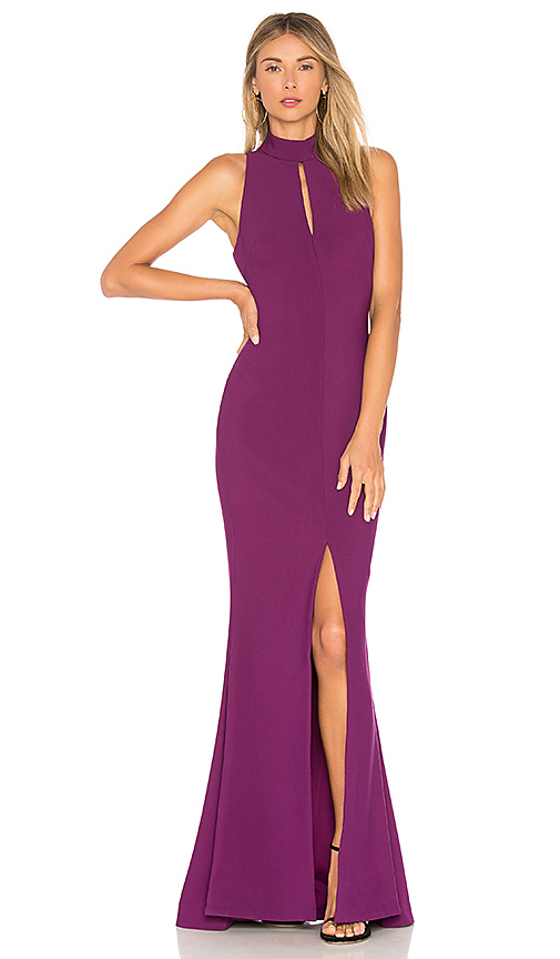 LIKELY Harbor Gown in Purple