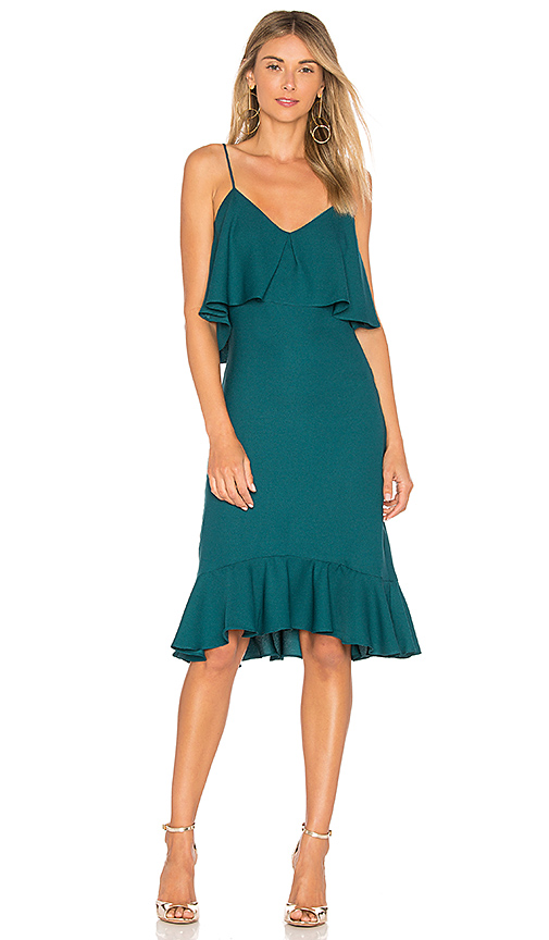 LIKELY Ardsley Dress in Teal