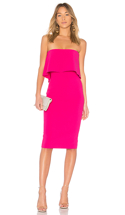 LIKELY Driggs Dress in Pink. - size 0 (also in 2,4,6,8)