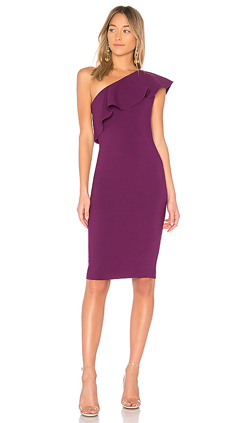 LIKELY Wilshire Dress in Purple. - size 0 (also in 2,4,6,8)