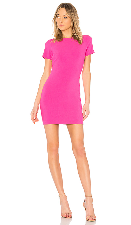 LIKELY Manhattan Dress in Fuchsia