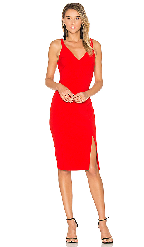 LIKELY Elisas Dress in Red