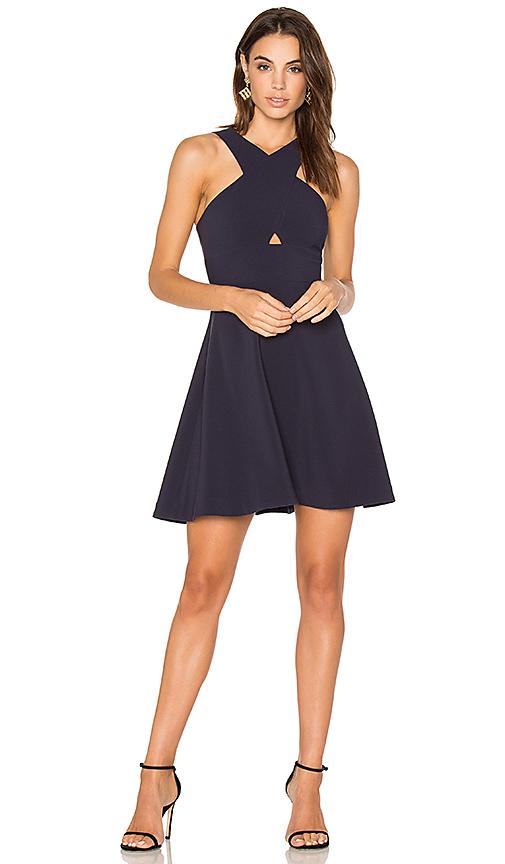 LIKELY Kensington Dress in Blue
