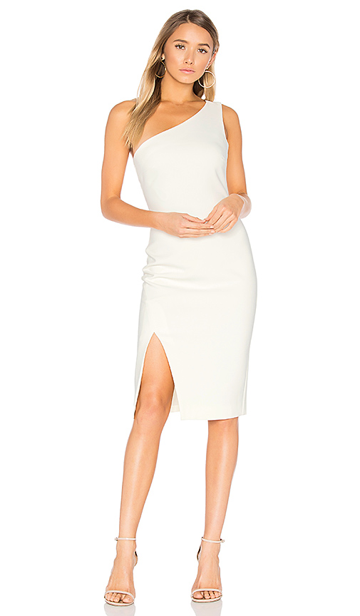 LIKELY Helena Dress in Ivory