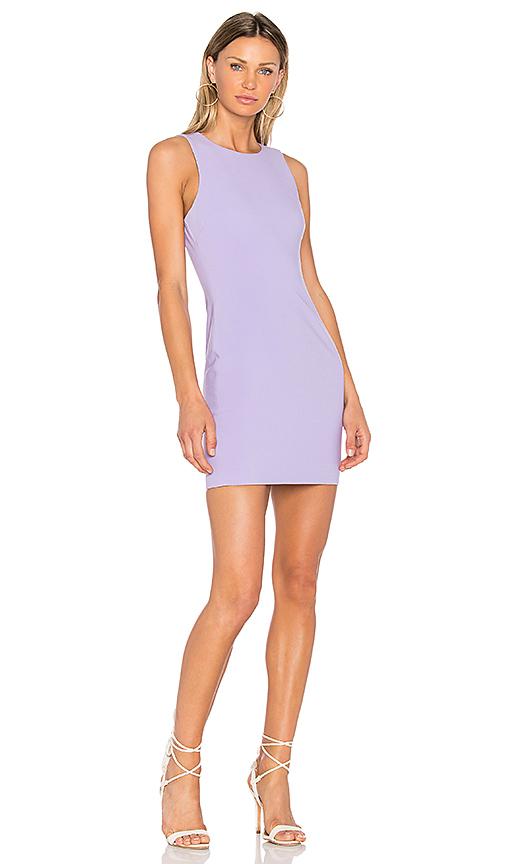 LIKELY Sleeveless Manhattan Dress in Purple