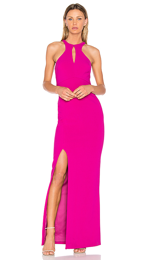 LIKELY Elston Dress in Fuchsia
