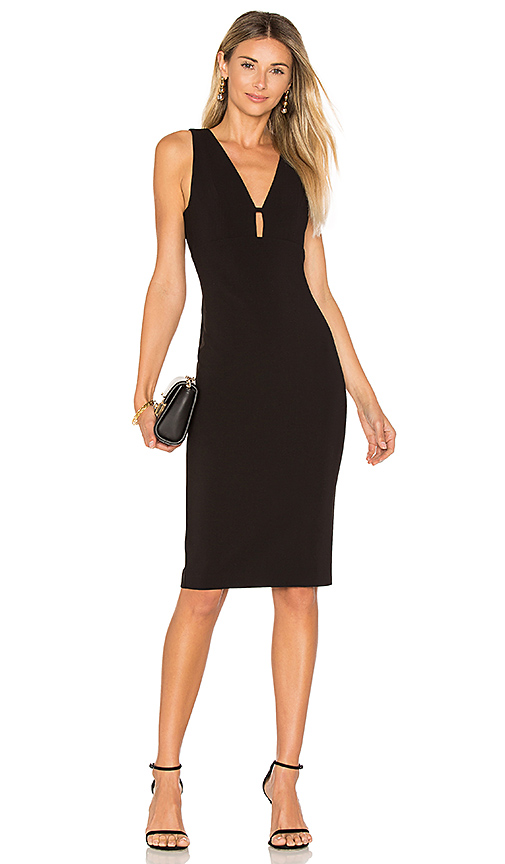 LIKELY Albury Dress in Black