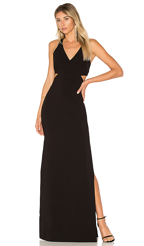 LIKELY Fullerton Dress in Black