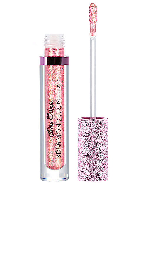 Lime Crime Diamond Crusher Lip Topper in Pink.