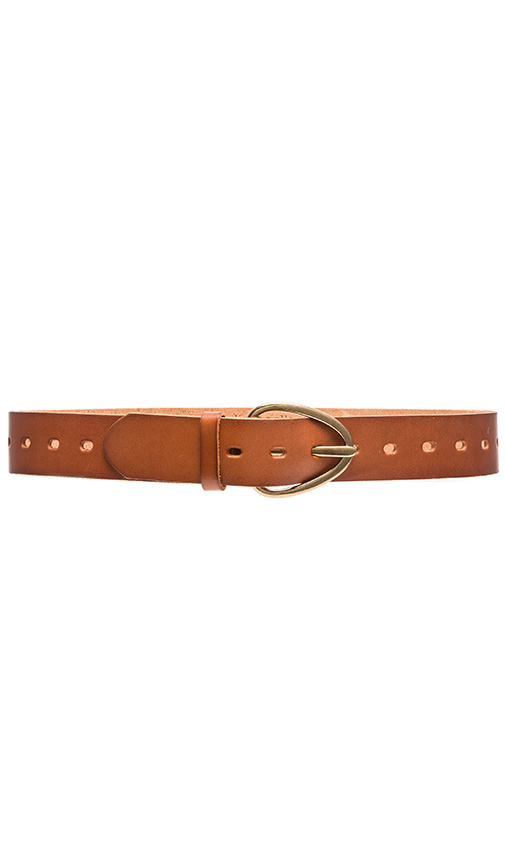 Linea Pelle Perry Versatile Hip Belt in Brown