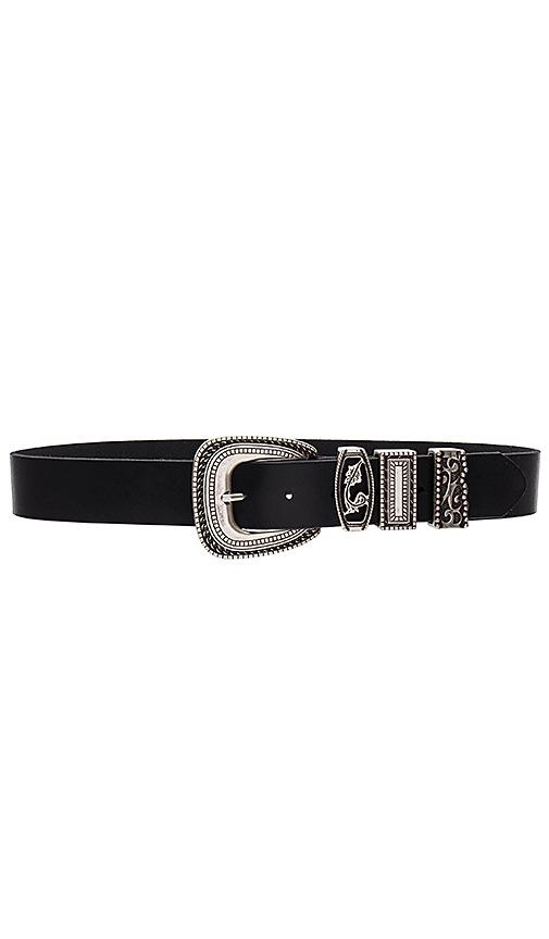 Linea Pelle Chunky Keeper Belt in Black