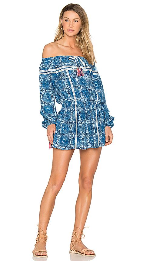 Lemlem Makena Mini Dress in Blue