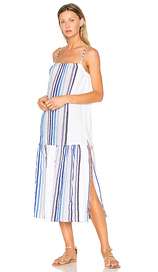 Lemlem Candace Maxi Dress in White