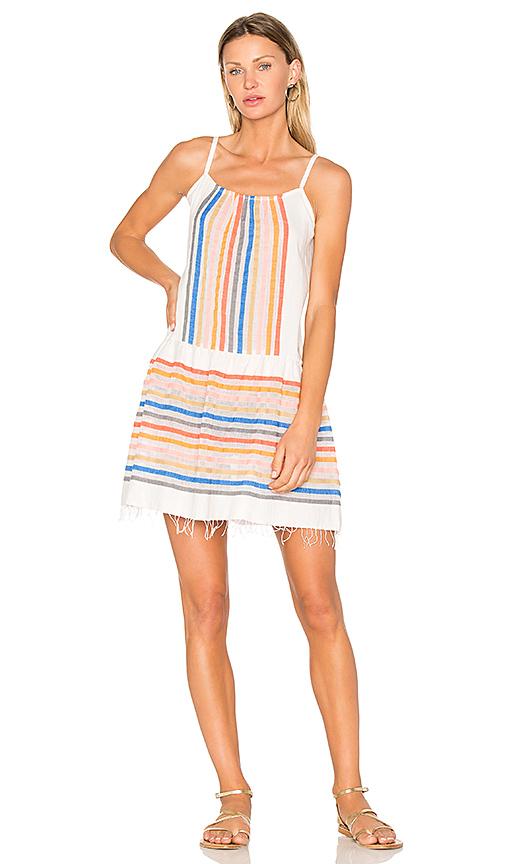 Lemlem Candace Sun Dress in Ivory
