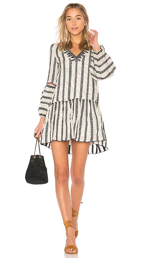 Lemlem Dalila Mini Dress in Cream