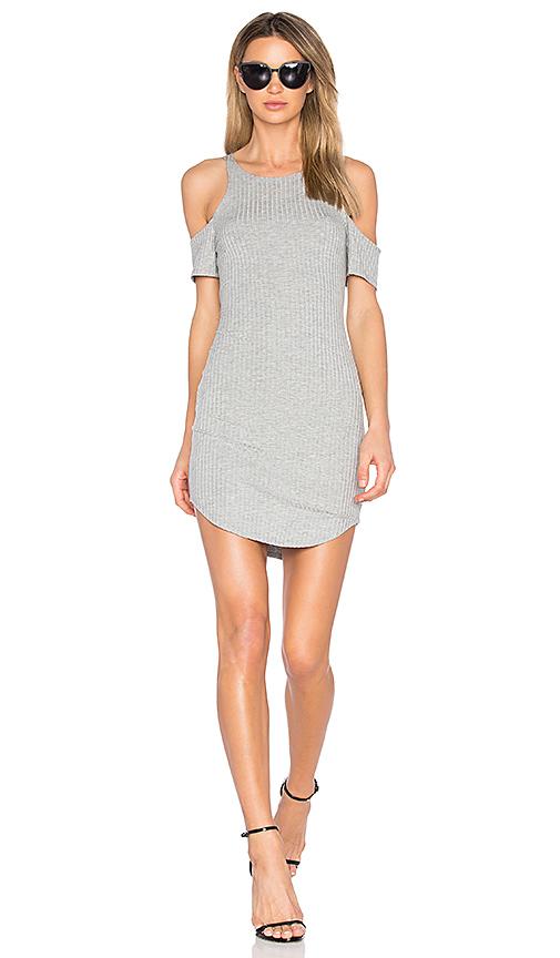 LNA Lea Dress in Gray