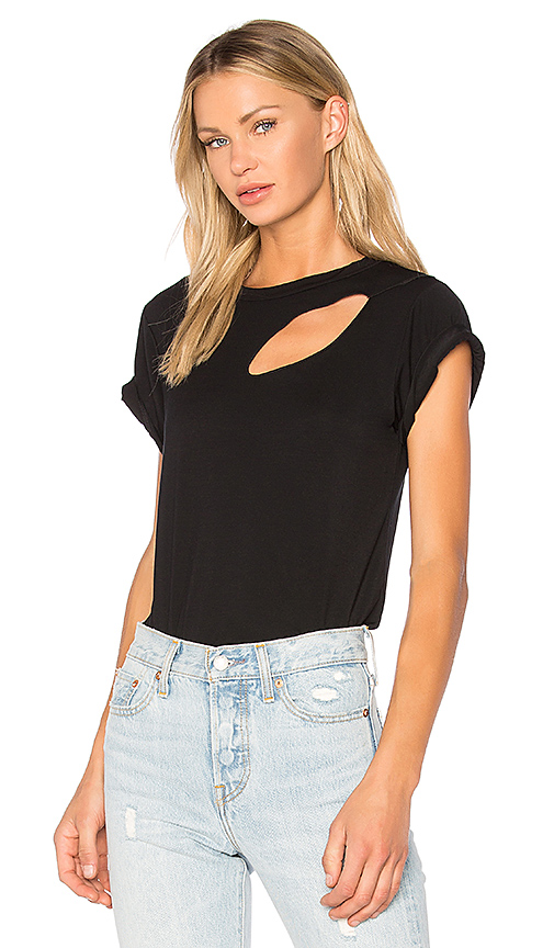 LNA Phase Slice Tee in Black