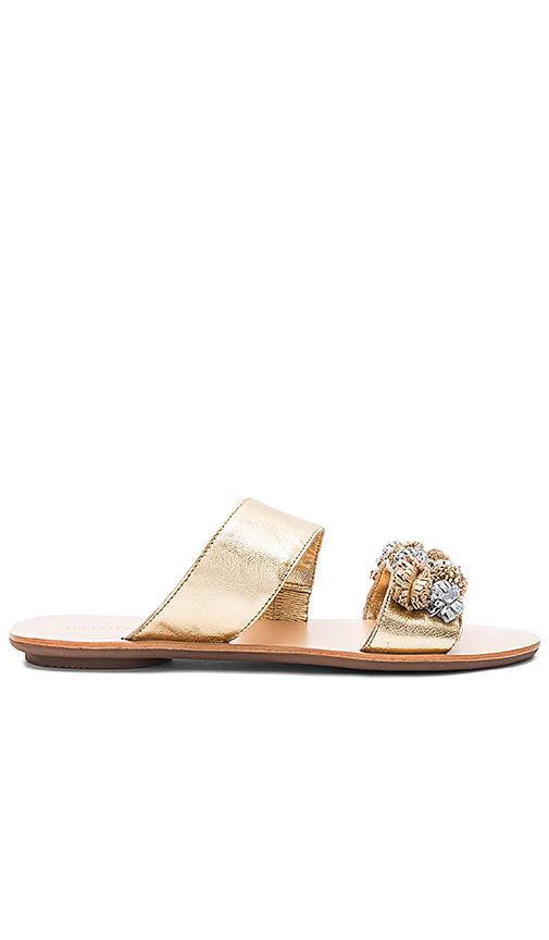 Loeffler Randall Clem Sandal in Metallic Gold