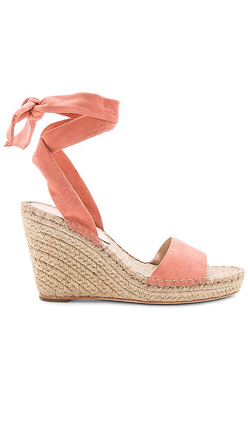 Loeffler Randall Harper Wedge in Rose