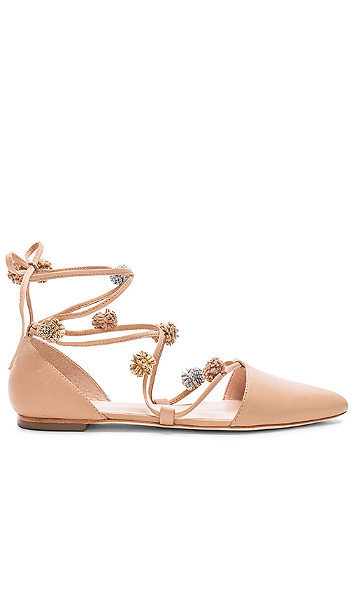Loeffler Randall Pollie Flat in Tan