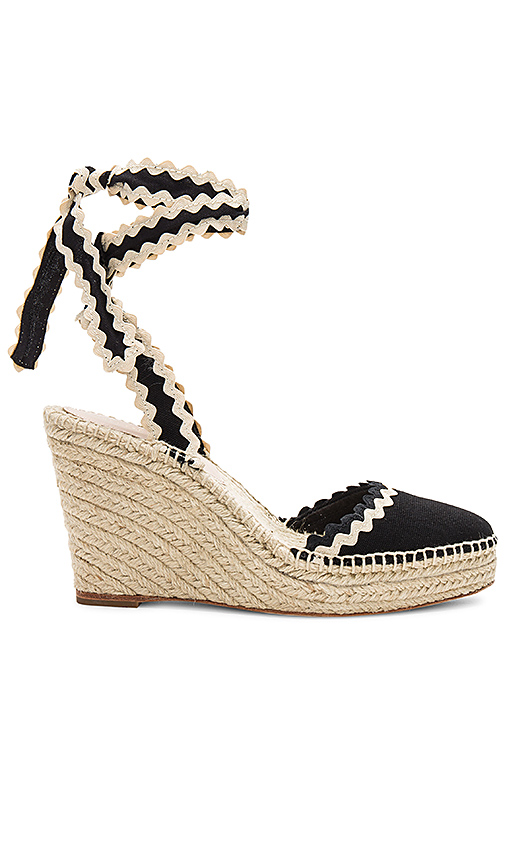 Loeffler Randall Ginny Wedge in Black