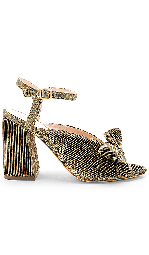 Loeffler Randall Leigh Heel in Metallic Gold
