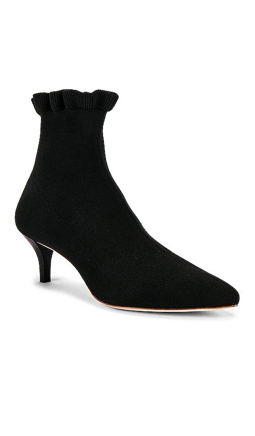 Loeffler Randall Kassidy Kitten Heel Booties in Black