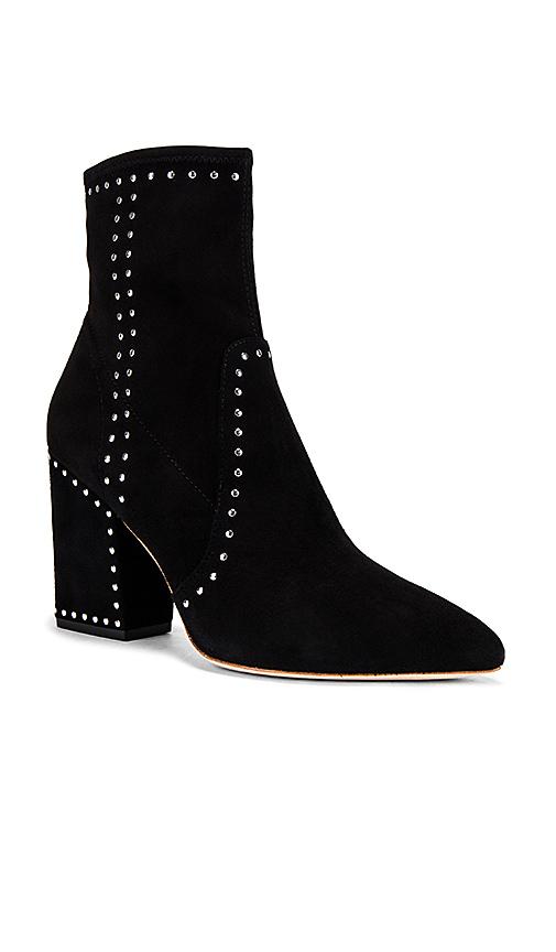 Loeffler Randall Isla Ankle Booties in Black