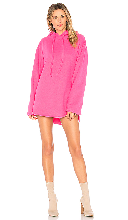Photo of Lovers + Friends Alma Hooded Dress in Pink - shop Lovers + Friends dresses sales