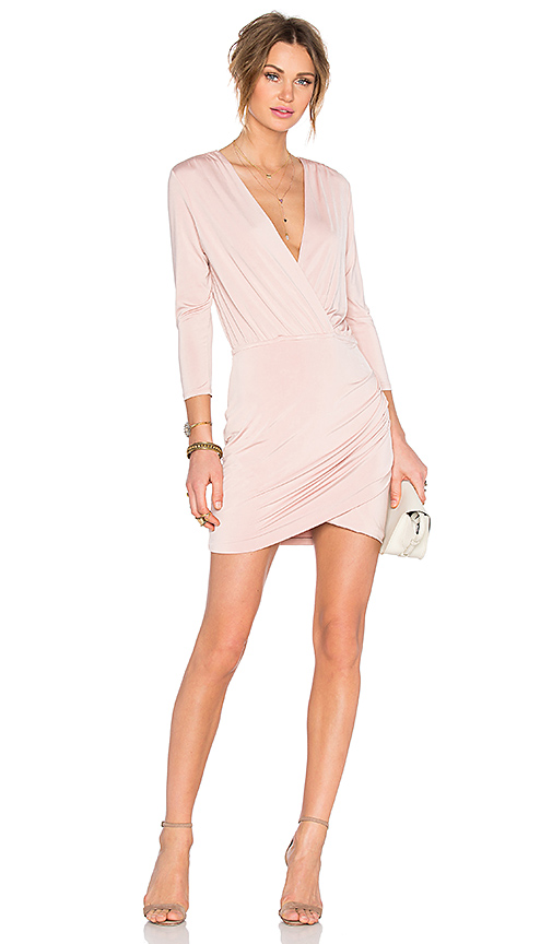 Lovers + Friends x REVOLVE Love Happy Dress in Beige