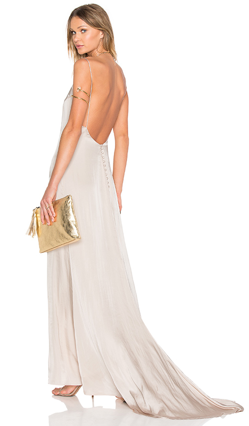 Lovers + Friends x REVOLVE The Slip Dress in Ivory